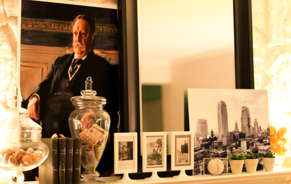 Let William Howard Taft Lend His Substantial Gravitas To Your Fireplace Mantel