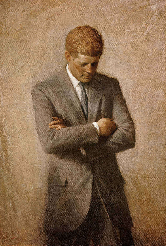 John F. Kennedy Presidential Portrait