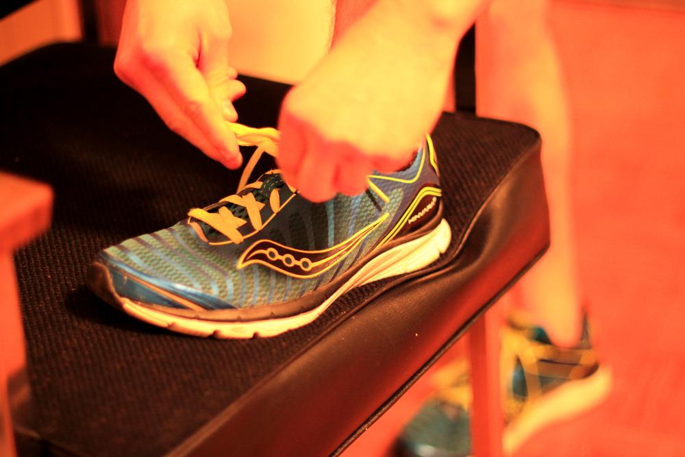 Saucony Kinvara 3 running shoe