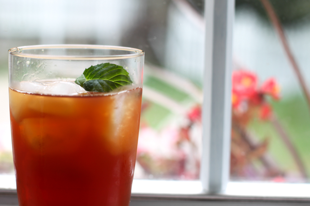 The Gentleman's Mint Iced Tea