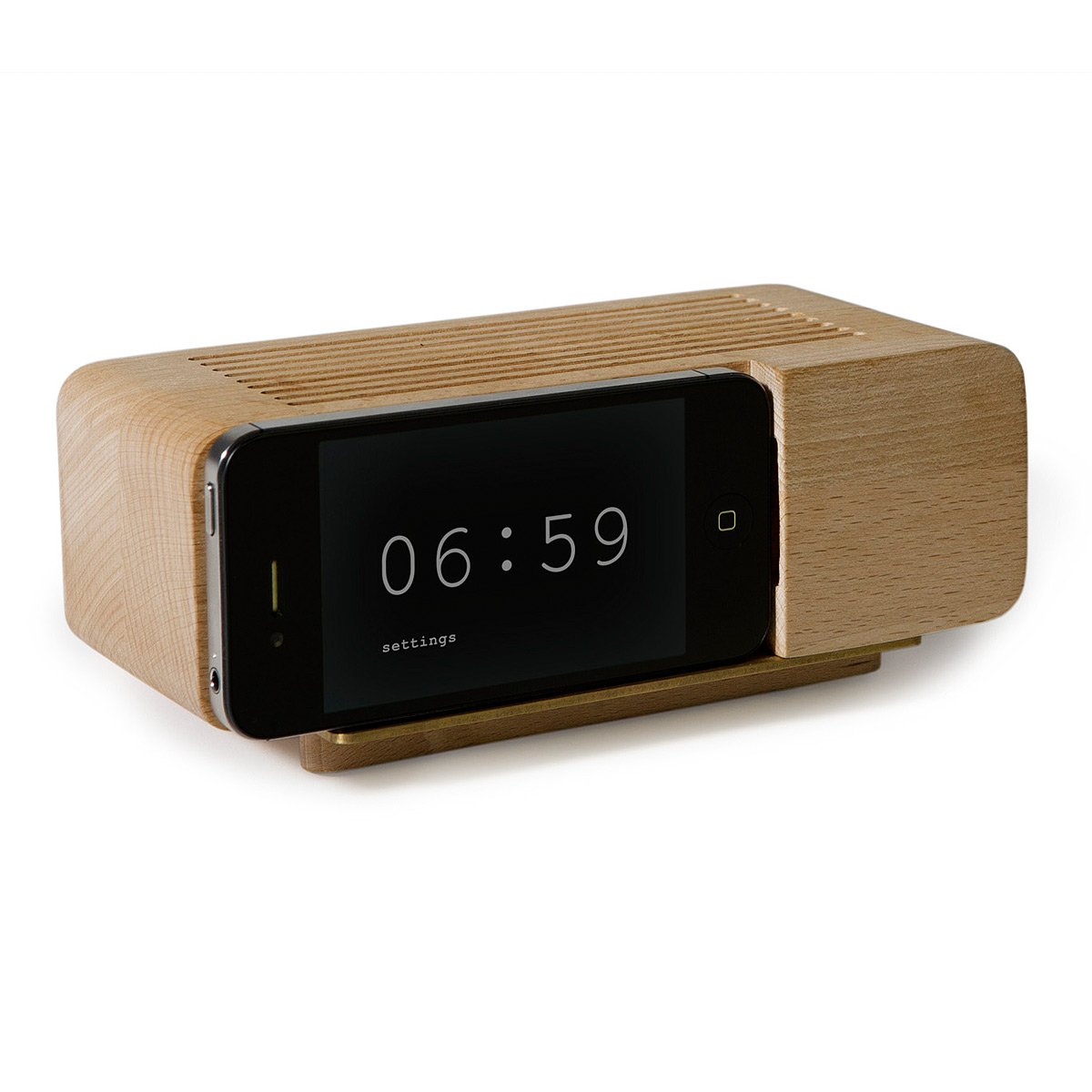 Iphone Alarm Dock by Jonas Damon