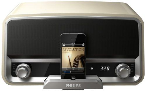 Phillips Original Radio and iPhone Dock