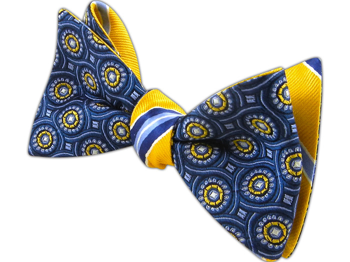 Looped Clinton Reversible Bow Tie