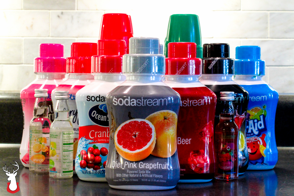 SodaStream offers over 60 flavors