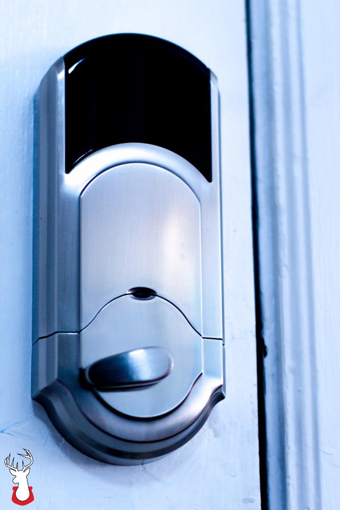G@H: Kwikset Kevo from inside the door