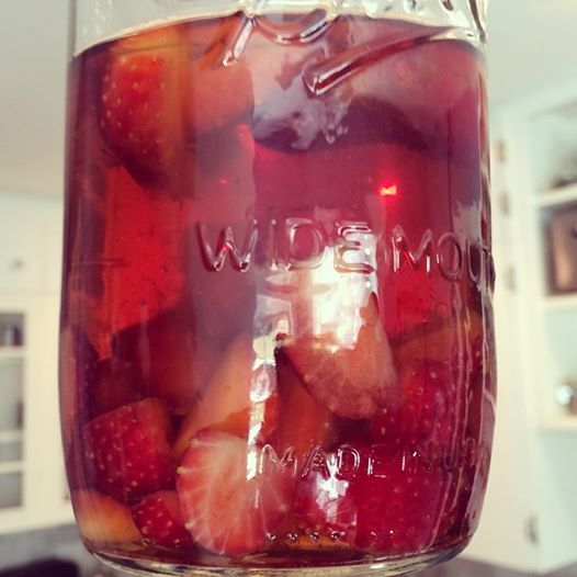 G@H: Strawberry-infused bourbon
