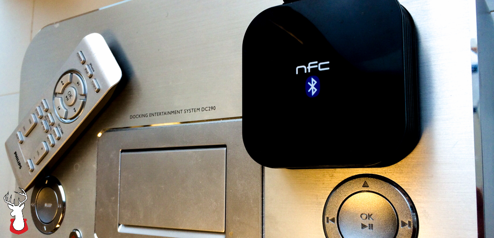 G@H: NFC-Enabled Bluetooth Audio Receiver