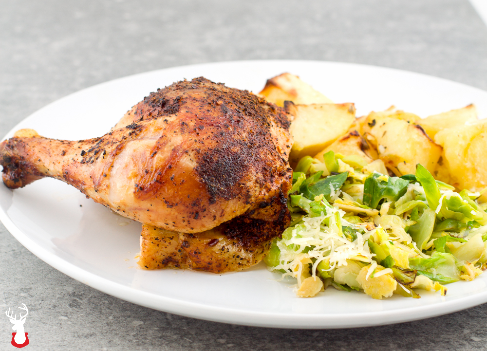 Here's how we make our beer can chicken better