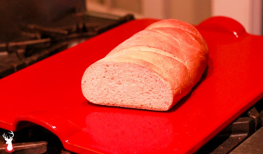 G@H's Honey Rosemary Bread on an Emile Henry Baking Stone