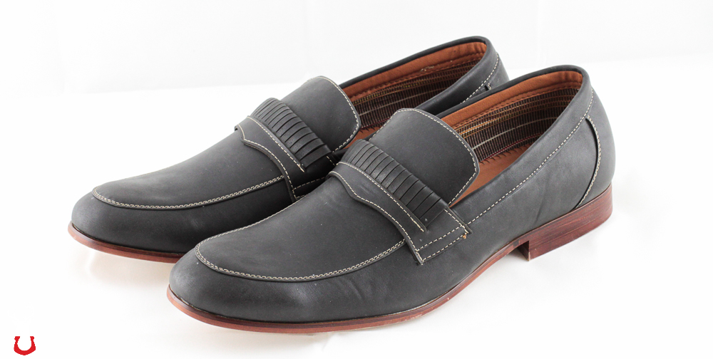 Ferro Aldo Men's Round-Toe Dress Loafers