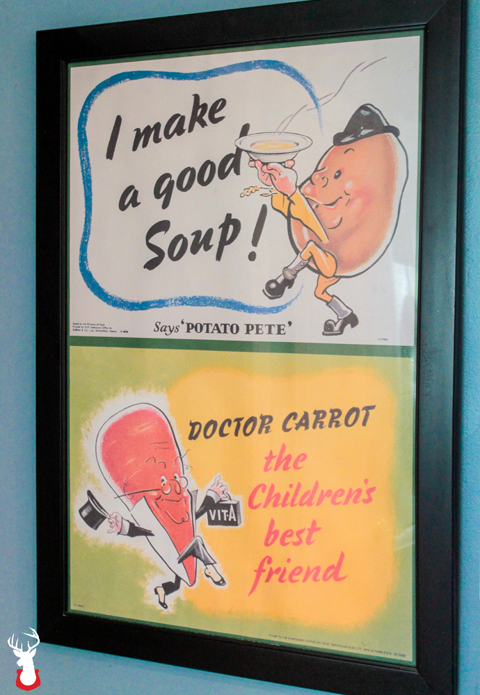 G@H:Potato Pete & Doctor Carrot Poster