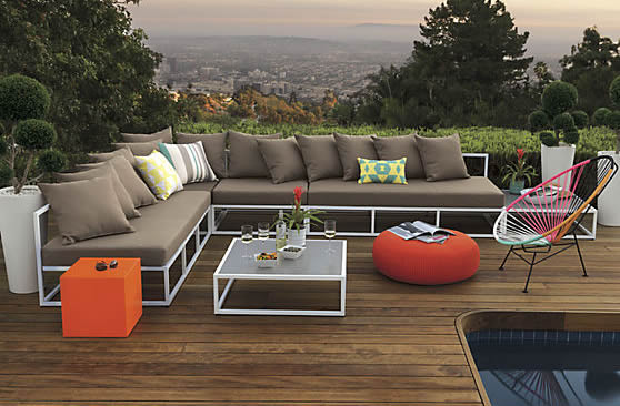 The Want List: casbah outdoor sectional from CB2