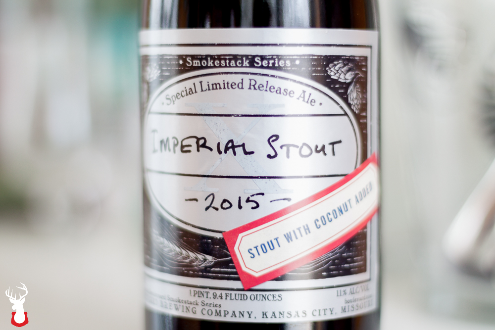 Imperial Stout X – Coconut from Boulevard Brewing Company