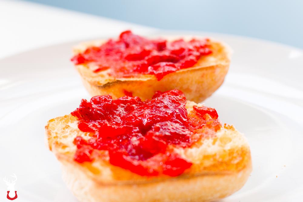 Honey Vanilla Strawberry Jam