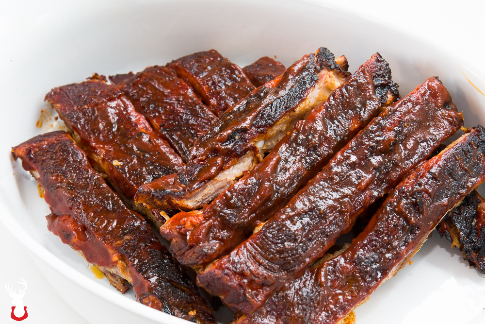 Pork spare ribs are our favorite to smoke and to eat