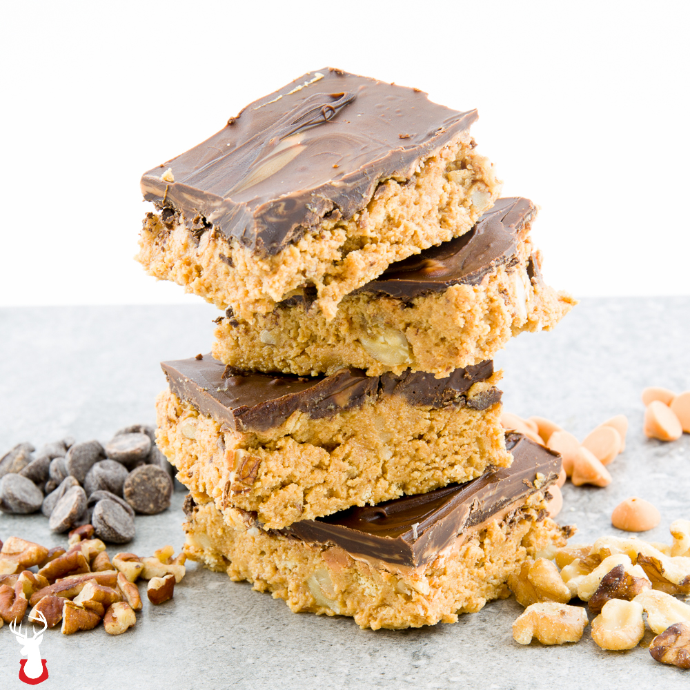 Chocolate and Butterscotch Mixed Nut Bars