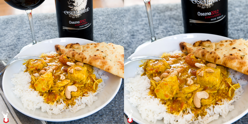 Coconut Milk Chicken Curry in a Hurry; Thanks, Pressure Cooker!