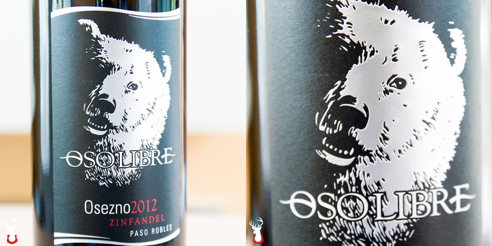 Osezno Zinfandel from Oso Libre Winery