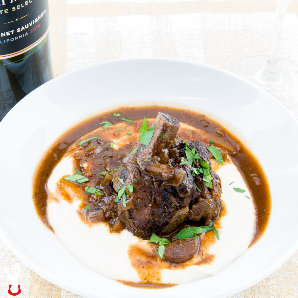 Short Ribs Braised in Red Wine
