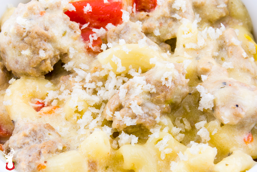 Italian Macaroni and Cheese in the Pressure Cooker