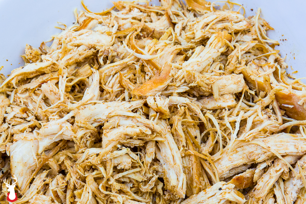 Shredded Chicken from the Instant Pot