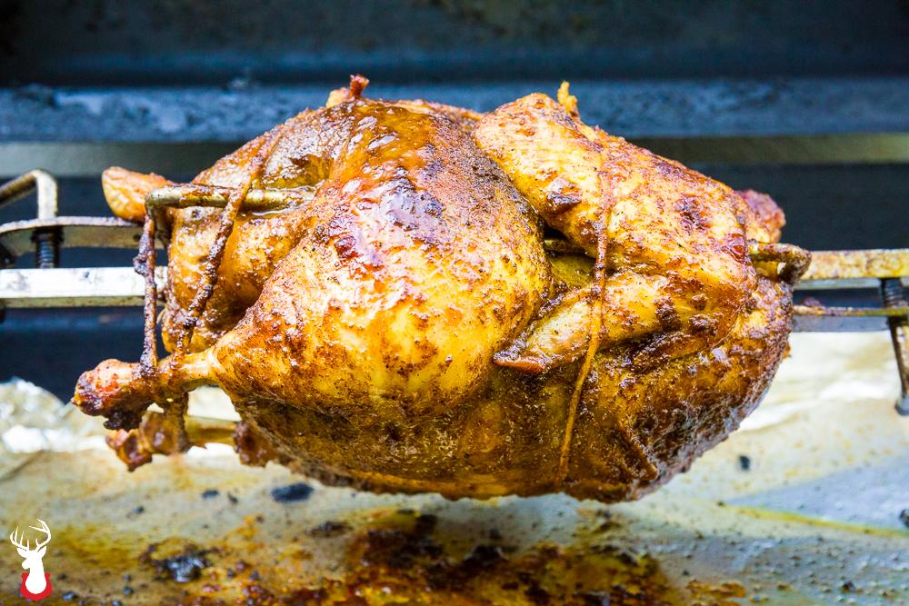 Moroccan Rotisserie Chicken