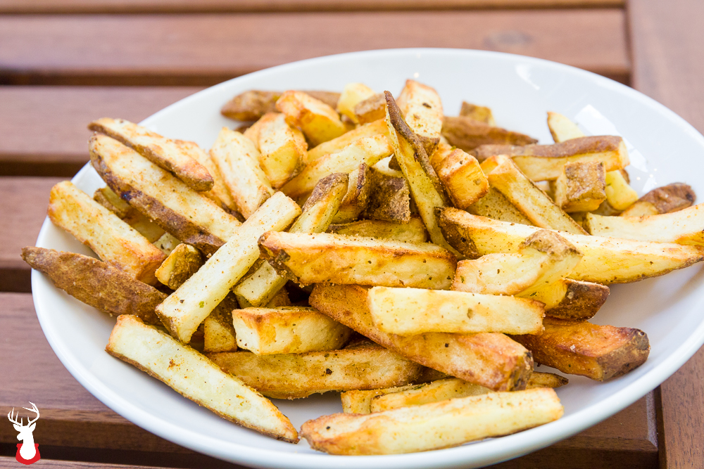 Airfryer Seasoned French Fries are a worthy impersonation