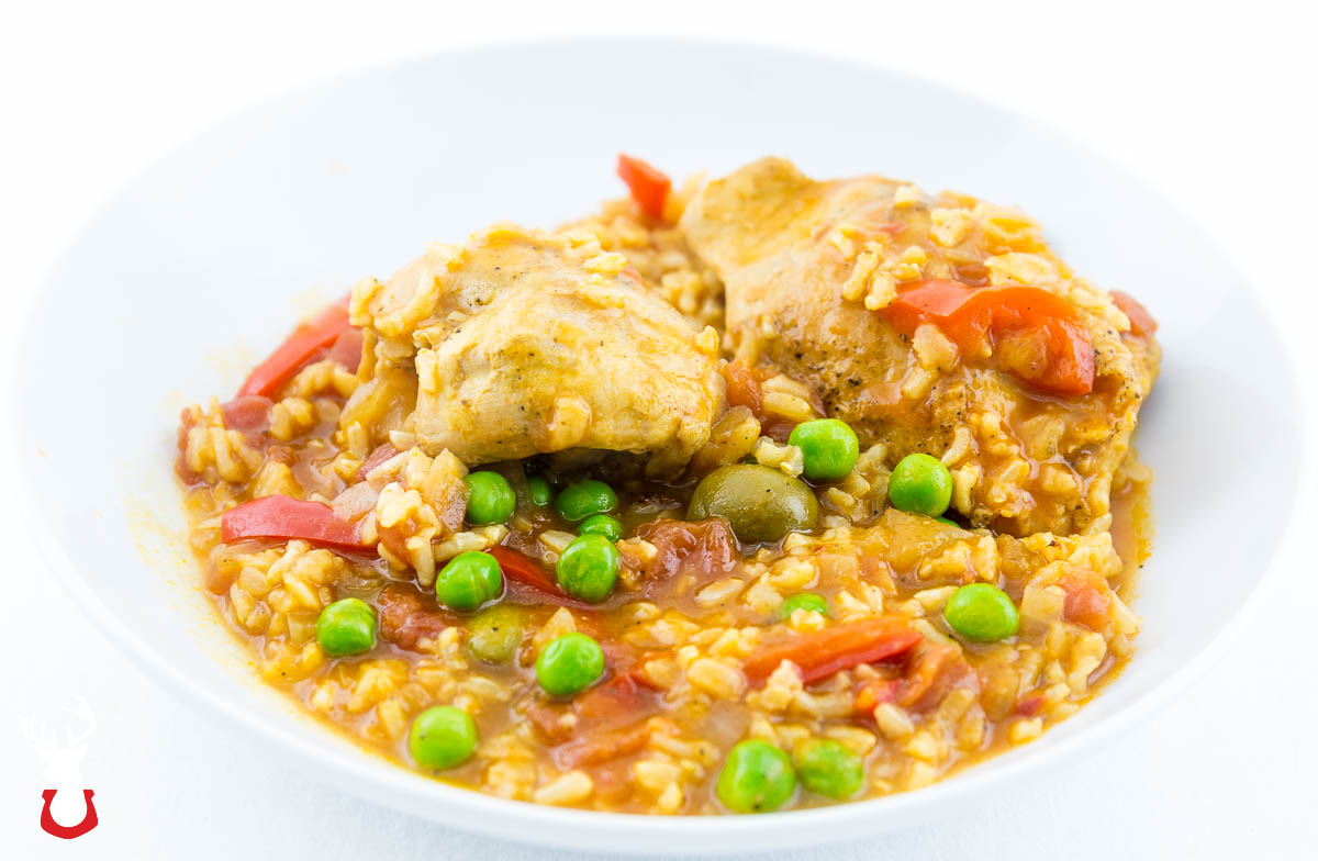 Soupy Rice with Chicken and Vegetables from Food & Wine.