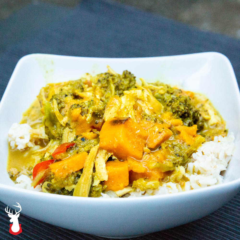 Thai Yellow Chicken Curry in the Instant Pot