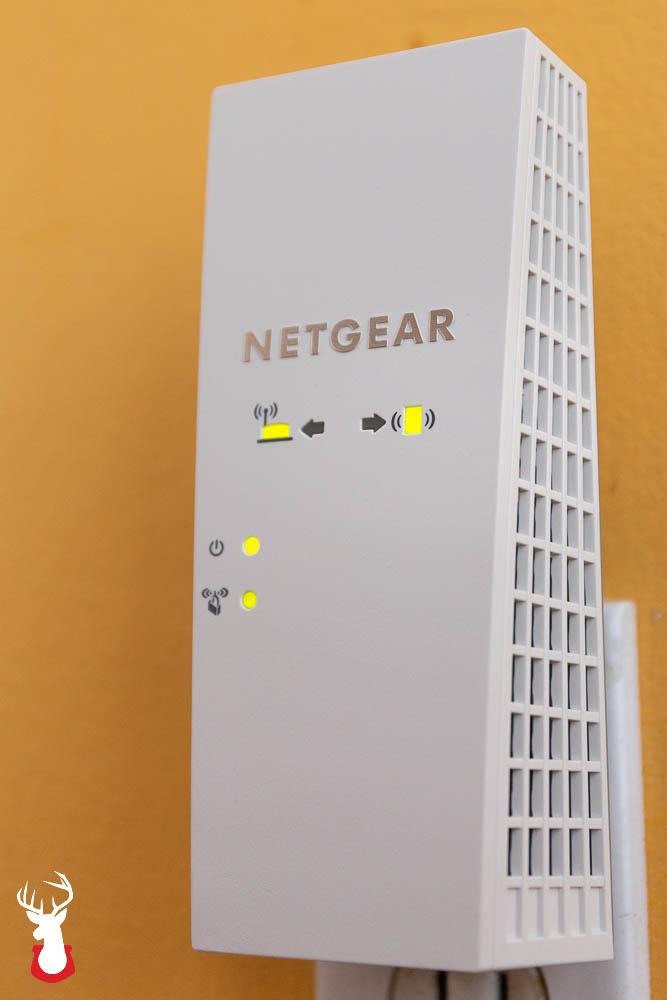 Boost that signal with a NETGEAR AC2200 Mesh WiFi Extender